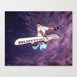 Snowboarding #2 Canvas Print