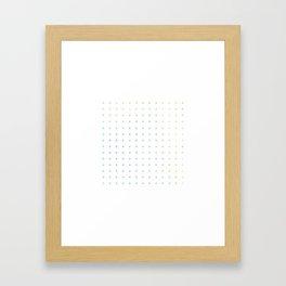 100 + plus Framed Art Print