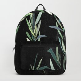 Eucalyptus Branches On Chalkboard Backpack