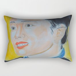 Gong Li Rectangular Pillow