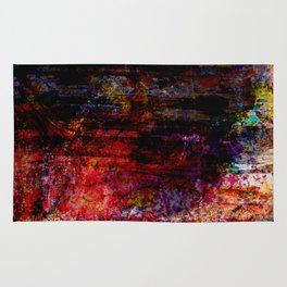 Digital Art Painting From Hell Rug