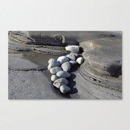 Stonework Canvas Print