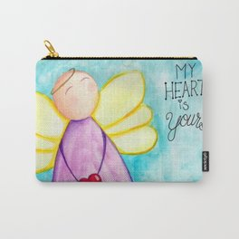 February Angel - My Heart is Yours Carry-All Pouch