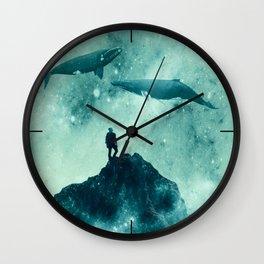 The Explorer Wall Clock