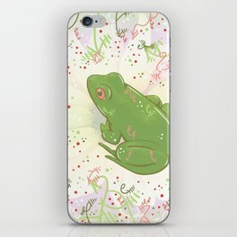 Little Frog iPhone Skin