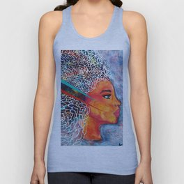 color girl Unisex Tank Top