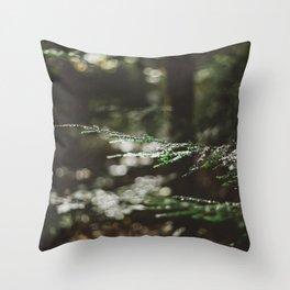 Forest Dark, Forest Deep Throw Pillow