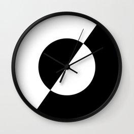 Symbolic opposites Wall Clock