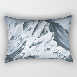 Grey Mountain Rectangular Pillow