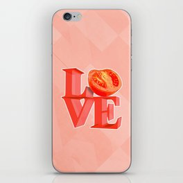 I LOVE TOMATO !!! iPhone Skin