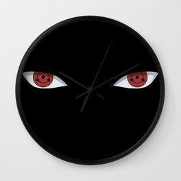 Sharingan Wall Clock