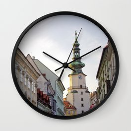 Bratislava Tower Wall Clock