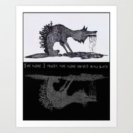 theTrust Art Print