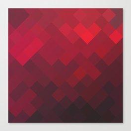 Red Impulse Canvas Print
