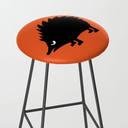 Angry Animals: hedgehog Bar Stool
