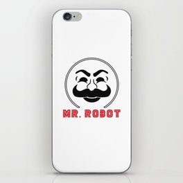 MR Robot Fsociety iPhone Skin