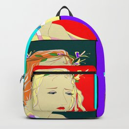 Pop Art of the Honeysuckle Beauty Backpack