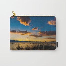 Sunset clouds over lake Carry-All Pouch