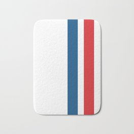 McQueen – Red and Blue Stripes Bath Mat
