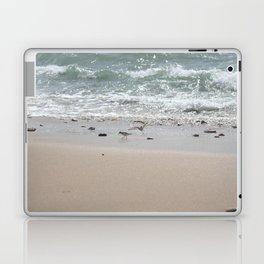 Seashore Sandpipers in tideland Laptop & iPad Skin