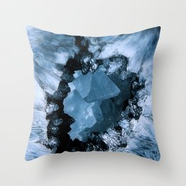 Crystal Blue Fantasy Throw Pillow