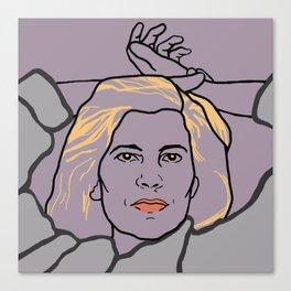 Susan Sontag Canvas Print