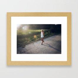 The Backroads Framed Art Print