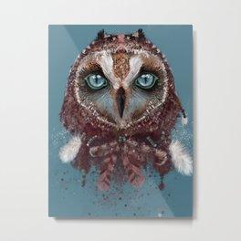 Owl Dream Catcher Metal Print