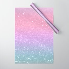 Unicorn Princess Glitter #1 (Photography) #pastel #decor #art #society6 Wrapping Paper