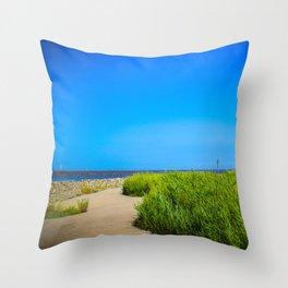 North Sea - Romance Throw Pillow
