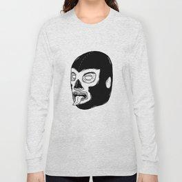 Black Luchador Long Sleeve T-shirt