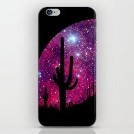 Noche caliente iPhone Skin