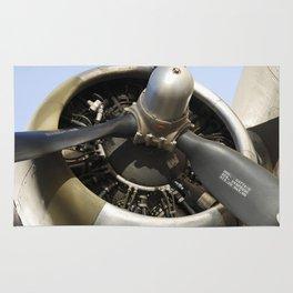 Airplane engine Rug