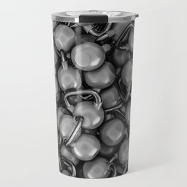 Kettlebells B&W Travel Mug