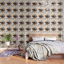 Kandinsky On White II Wallpaper