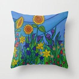 Nature's Grace Throw Pillow
