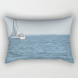Sweet Day On the Bay Rectangular Pillow