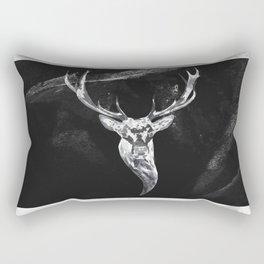 Deer in a montain Rectangular Pillow