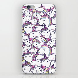 a lot of unicorns iPhone Skin