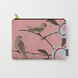 Brown Birds Carry-All Pouch