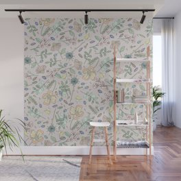 Country Flowers - Peach Blossom Wall Mural