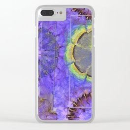 Resistability Woof Flower  ID:16165-105348-97381 Clear iPhone Case