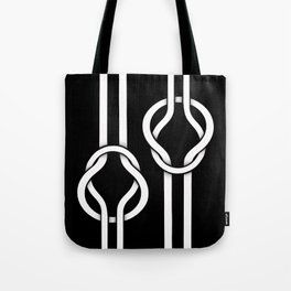 two untied Tote Bag