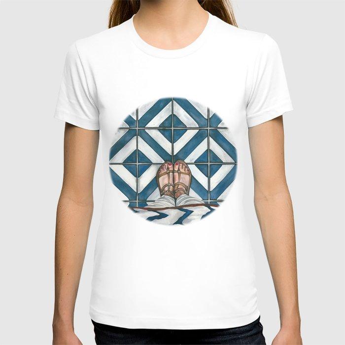 Art Beneath Our Feet - Cabarita Beach, Australia T-shirt