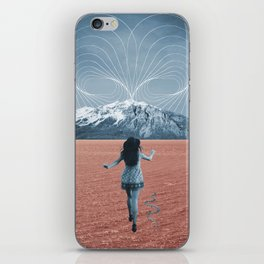"""A tu encuentro/To meet you"". iPhone Skin"