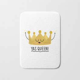 Yas Queen Bath Mat