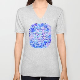 Always Remember – Indigo Palette Unisex V-Neck