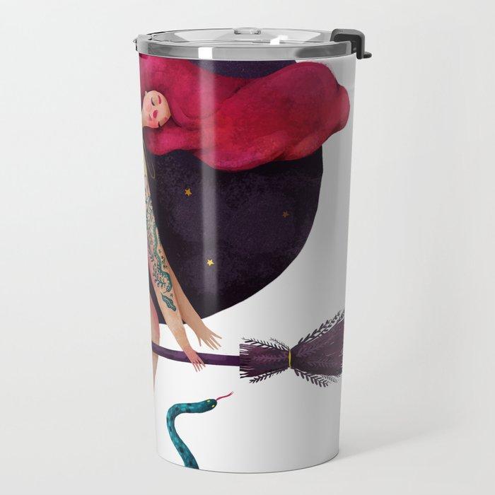 Sexy witch Travel Mug