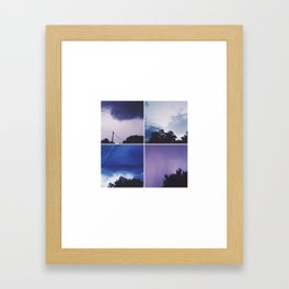 Sillage Framed Art Print