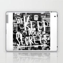 We Keep Your Secrets Laptop & iPad Skin
